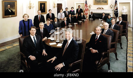 Wonderful ... Official Photo Of United States President Bill Clintonu0027s Cabinet Taken  In The Cabinet Room Of The
