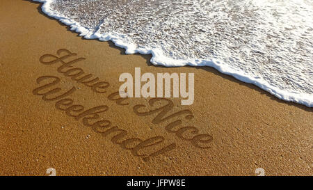 have a nice weekend stock photo 88509500 alamy