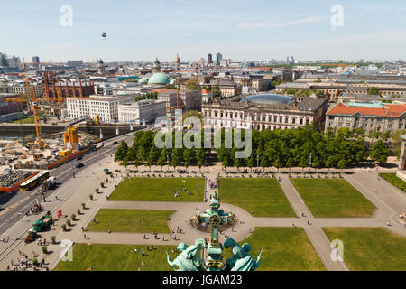 germany berlin aerial view of garden allotments known as stock photo royalty free image. Black Bedroom Furniture Sets. Home Design Ideas