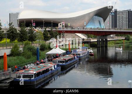 London Aquatics Centre Queen Elizabeth Olympic Park Stratford Stock Photo Royalty Free Image