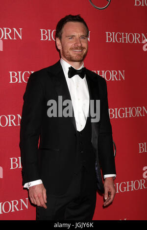 Palm Springs, CA, USA. 2nd Jan, 2016. PALM SPRINGS - JAN 2: Michael Fassbender at the 27th Palm Springs International - Stock Photo