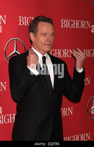 Palm Springs, CA, USA. 2nd Jan, 2016. PALM SPRINGS - JAN 2: Bryan Cranston at the 27th Palm Springs International - Stock Photo