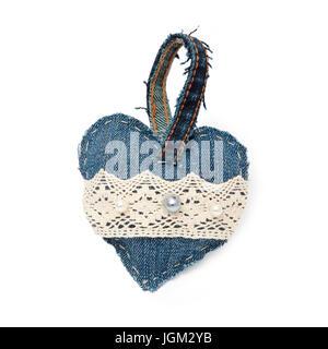 Heart of denim - Stock Photo