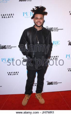 The Weeknd. ADMWEEKNDPUREMJT10 - 02 November 2013 - Las Vegas, NV - The Weeknd. The Weeknd takes over Pure Nightclub - Stock Photo