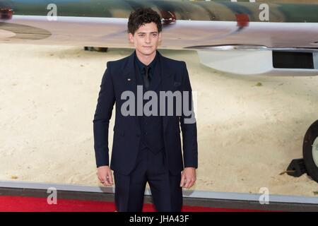 London, United Kingdom Of Great Britain And Northern Ireland. 13th July, 2017. Aneurin Barnard attends the World - Stock Photo