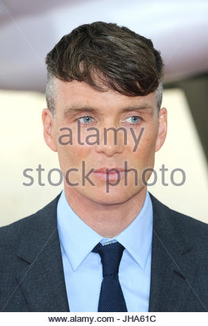 London, UK. 13th July, 2017. Cillian Murphy attends the 'Dunkirk' World Premiere at Odeon Leicester Square on July - Stock Photo