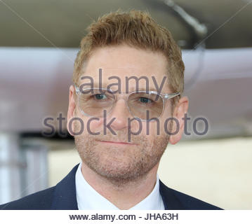 London, UK. 13th July, 2017. Kenneth Branagh attends the 'Dunkirk' World Premiere at Odeon Leicester Square on July - Stock Photo
