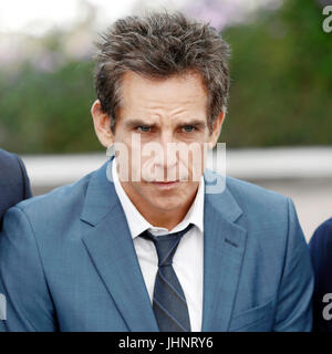 CANNES, FRANCE - MAY 21: Actor Ben Stiller attends 'The Meyerowitz Stories' photo-call during the 70th Cannes Film - Stock Photo