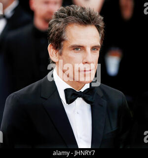 CANNES, FRANCE - MAY 21: Actor Ben Stiller attends 'The Meyerowitz Stories' premiere during the 70th Cannes Film - Stock Photo