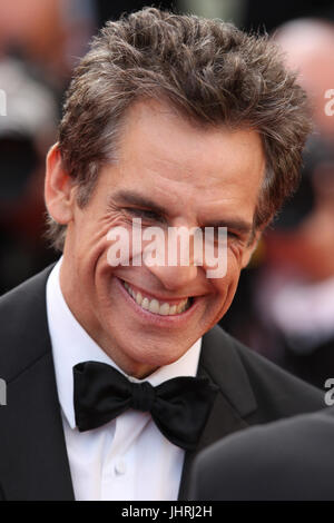 Ben Stiller attends The Meyerowitz Stories screening during the 70th annual Cannes Film Festival at Palais des Festivals - Stock Photo