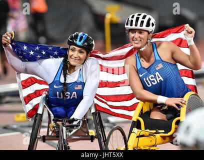 London, UK. 15th July, 2017. World Para Athletics, Championships London 2017,  on Saturday. Credit: Taka Wu/Alamy - Stock Photo