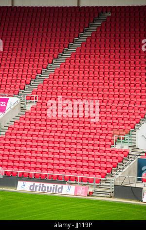 General view of Ashton Gate stadium, Bristol. - Stock Photo