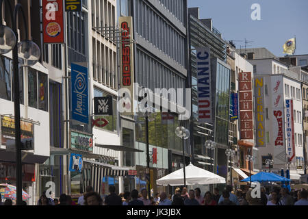 shopping street cologne germany stock photo royalty free image 67799458 alamy. Black Bedroom Furniture Sets. Home Design Ideas