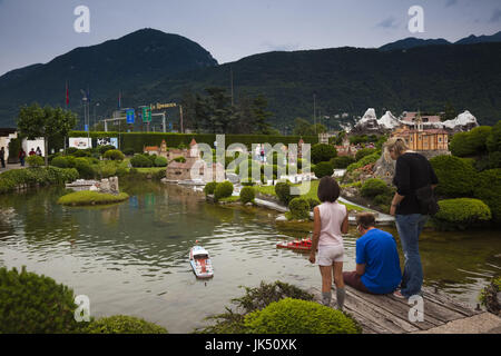 Switzerland ticino lake lugano melide swissminiatur for M park geneve