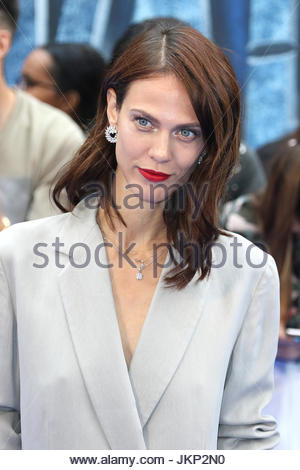 London, UK. 24th July, 2017. Aymeline Valade is among the stars in attendance at the European premiere of Valerian - Stock Photo
