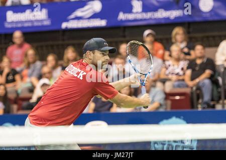 Philadelphia, Pennsylvania, USA. 25th July, 2017. Tennis legend and newly international tennis hall of famer, ANDY - Stock Photo