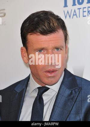 Los Angeles, CA, USA. 26th July, 2017. Taylor Sheridan at arrivals for WIND RIVER Premiere, Ace Hotel Los Angeles, - Stock Photo