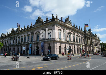 Berlin, Germany. 17th July, 2017. The sun is shining on the German Historical Museum in Berlin, Germany, 17 July - Stock Photo