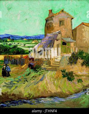 Vincent van gogh la maison de la crau stock photo royalty for Auberge ravoux maison van gogh