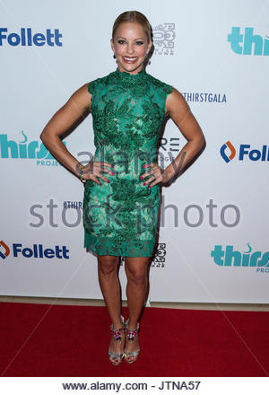 Amy Paffrath. BEVERLY HILLS, LOS ANGELES, CA, USA - JUNE 30: 6th Annual Thirst Gala held at The Beverly Hilton Hotel - Stock Photo