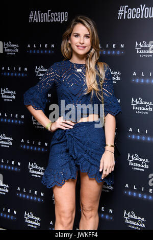 Celebrities attend the launch of  Alien Escape at Madame Tussauds London  Featuring: Vogue Williams Where: London, - Stock Photo