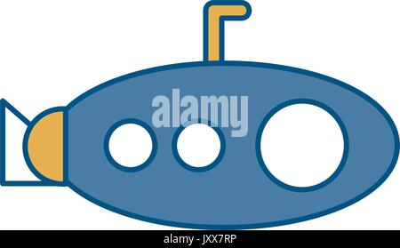 submarine icon image - Stock Photo