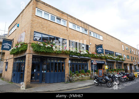 The Cambridge Brew House A Pub With Its Own Micro Brewery, King Street, Cambridge, UK - Stock Photo