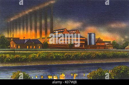 Quot Pittsburgh Pennsylvania Quot Usa Quot U S X Quot Quot Steel Mill Quot With