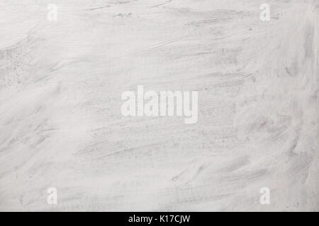 The texture of the paint on a white background. Gouache on canvas stripes - Stock Photo