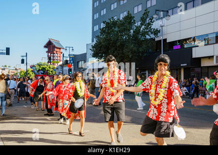 Los Angeles, USA. 27th August, 2017. Superb Nisei Week Festival closing ceremony on AUG 27, 2017 at Little Tokyo, - Stock Photo