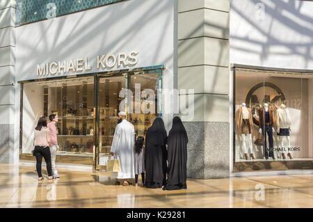 Michael kors luxury store in london uk stock photo for Michael kors rockefeller center