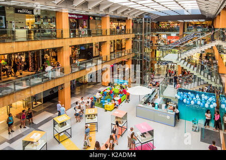 Interior of illa carlemany shopping centre in andorra la - Centre comercial la illa ...