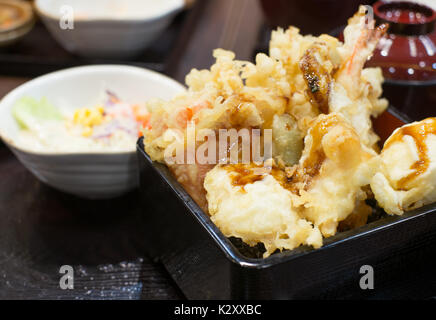 mixed tempura - Stock Photo