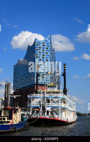 Elbphilharmonie in Hamburg, Germany, Europe, Deutschland ...