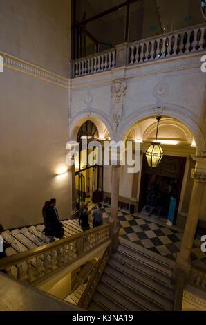 Egyptian museum (Turin, Piedmont, Italy) - Stock Photo