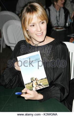 Mary Stuart Masterson attends the Fort Lauderdale International Film Festival with her husband Jeremy Davidson to - Stock Photo