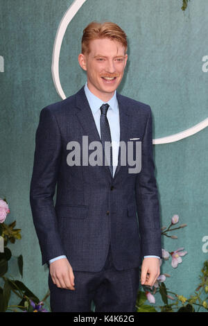 London, UK. 06th Sep, 2017. Domhnall Gleeson, Mother! - UK Film Premiere, Leicester Square, London UK, 06 September - Stock Photo