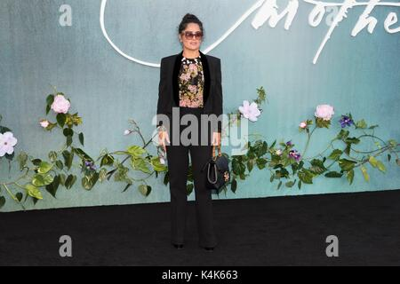 London, United Kingdom Of Great Britain And Northern Ireland. 06th Sep, 2017. Salma Hayek attends MOTHER! UK Premiere - Stock Photo