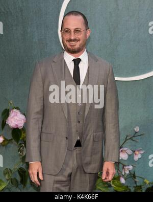 London, United Kingdom Of Great Britain And Northern Ireland. 06th Sep, 2017. Darren Aronofsky attends MOTHER! UK - Stock Photo