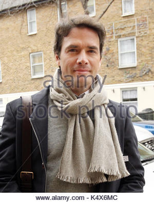 Matthew Settle. Gossip Girl actor Matthew Settle is pictured leaving the ITV studios following a guest appearance - Stock Photo