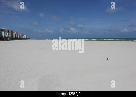 Miami Beach, Deserted, Pre Hurricane Irma, September 8, 2017 - Stock Photo
