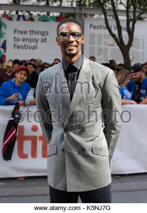 Toronto, Canada. 9th Sep, 2017. NBA player Chris Bosh attends the world premiere of the documentary 'The Carter - Stock Photo