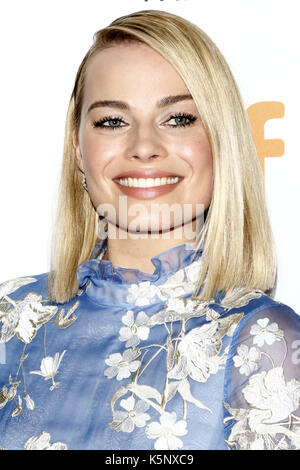 Margot Robbie attending the 'I, Tonya' premiere during the 42nd Toronto International Film Festival at Princess - Stock Photo