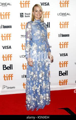 Margot Robbie attending the 'I, Tonya' premiere during the 42nd Toronto International Film Festival at Princess - Stock Photo
