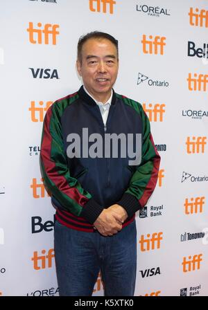 Toronto, Canada. 10th Sep, 2017. Director Chen Kaige attends the sneak peek of his new film 'Legend of the Demon - Stock Photo