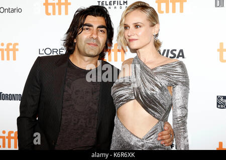 Toronto, Canada. 12th Sep, 2017. Director Fatih Akin and Diane Kruger attending the 'In the Fade' premiere during - Stock Photo