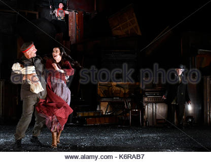 London, UK. 13th Sep, 2017. Woyzeck in Winter at The Barbican Theatre London, UK. 13th Sep, 2017. Galway International - Stock Photo
