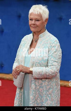 Judi Dench,'Victoria & Abdul' - UK Premiere,Odeon Leicester Square,London.UK - Stock Photo