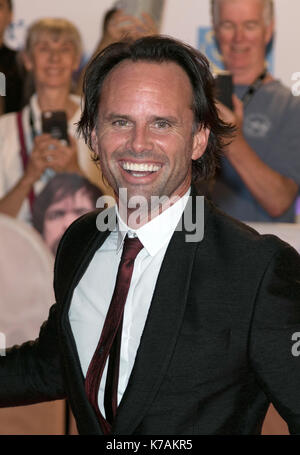 Toronto, Canada. 15th Sep, 2017. Walton Goggins attends the premiere of 'Three Christs' during the 42nd Toronto - Stock Photo
