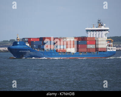 Astrosprinter (ship, 2007) IMO 9349215 Maasmond, Port of Rotterdam photo 3 - Stock Photo